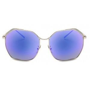 Dámske slnečné okuliare s modrým odrazom skiel