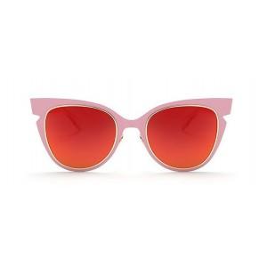 Ružovo červené okuliare v modernom dizajne