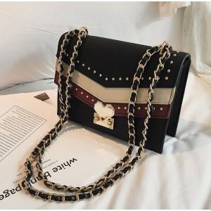 Čierna dámska BOHO crossbody kabelka