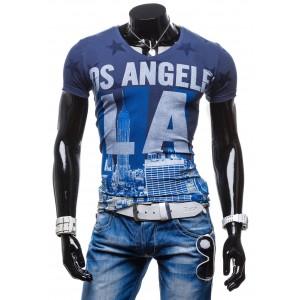 Športové pánske tričká 100% bavlna Los Angeles