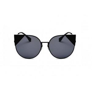 Mačacie slnečné okuliare s čiernymi sklami a rámom