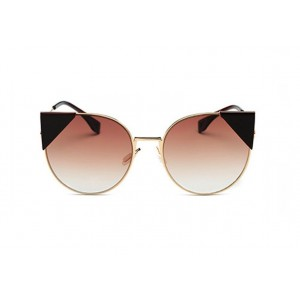Hnedé mačacie ombre okuliare štýlové