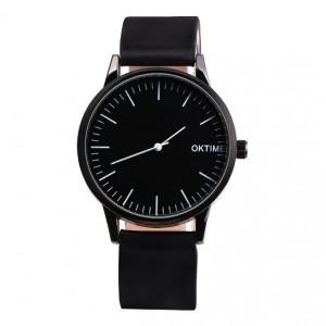 Čierne dámske náramkové hodinky