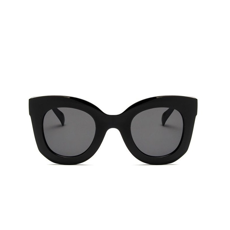 3167a6352 Čierne plastové dámske slnečné okuliare