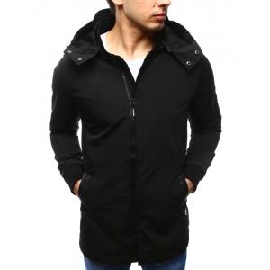 Čierna pánska prechodná bunda na jar