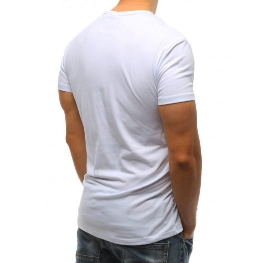 Pánske tričko s krátkym rukávom s potlačou