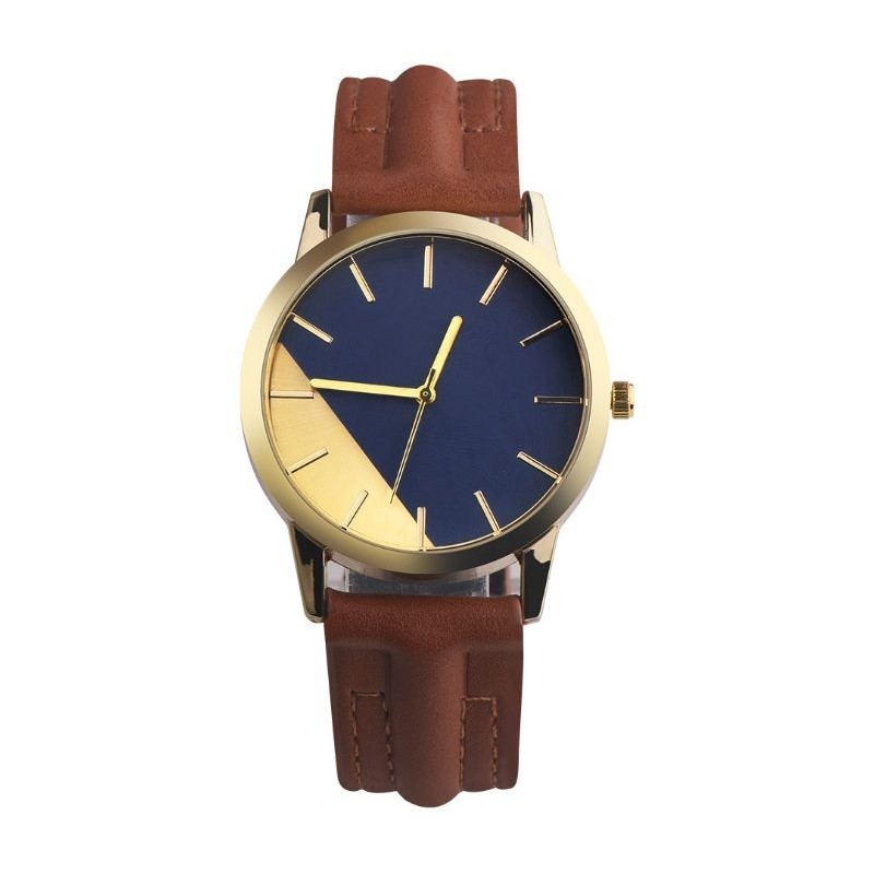 d6ff88dd5 Elegantné dámske hodinky na ruku s hnedým remienkom