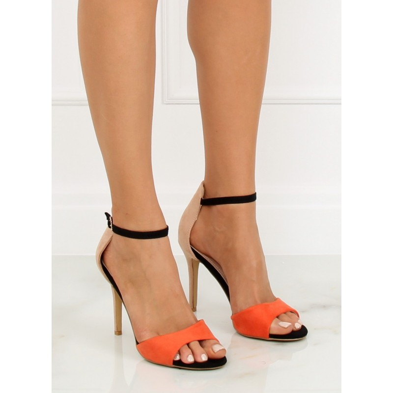 de648533c66e Vysoké béžové dámske sandále na leto