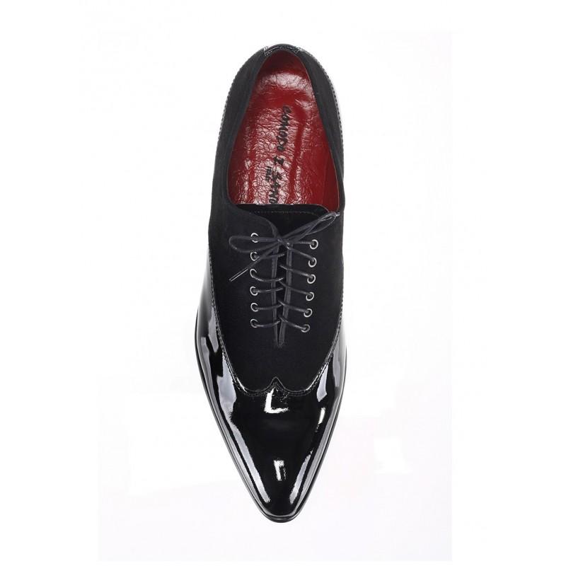 7896d156f4a0 Čierné lesklé lakovky talianská obuv Comodo E Sano - fashionday.eu
