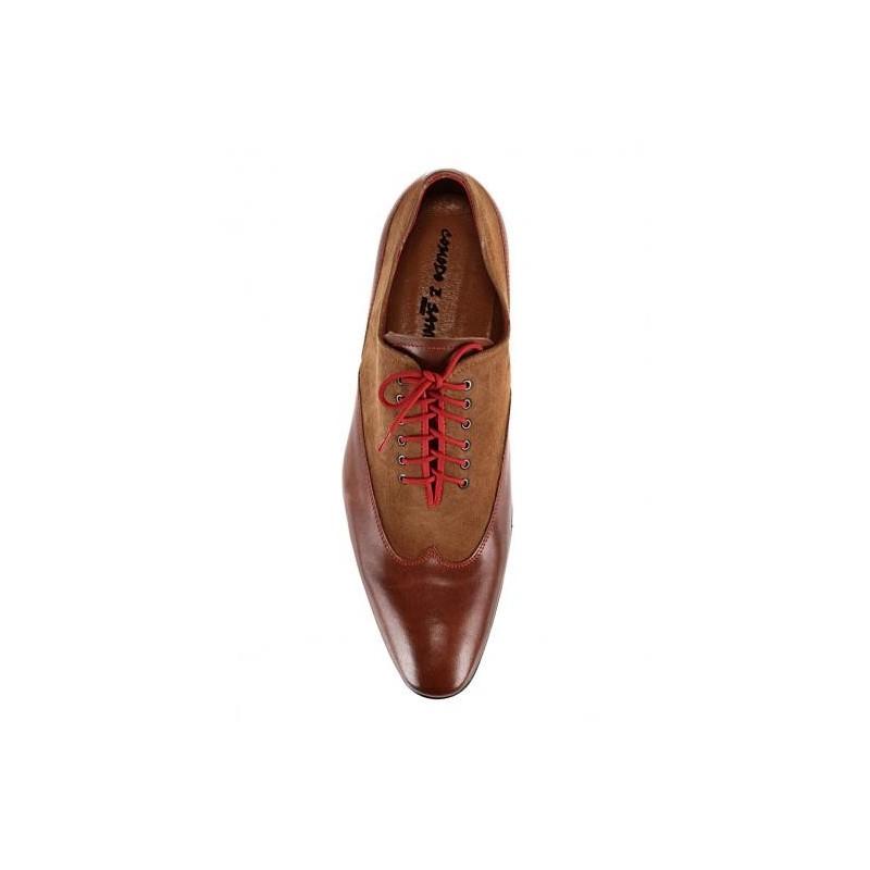 ... hnedej farby comodo e sano · Pánska kožená spoločenská obuv ... 9e19ac8bc4e