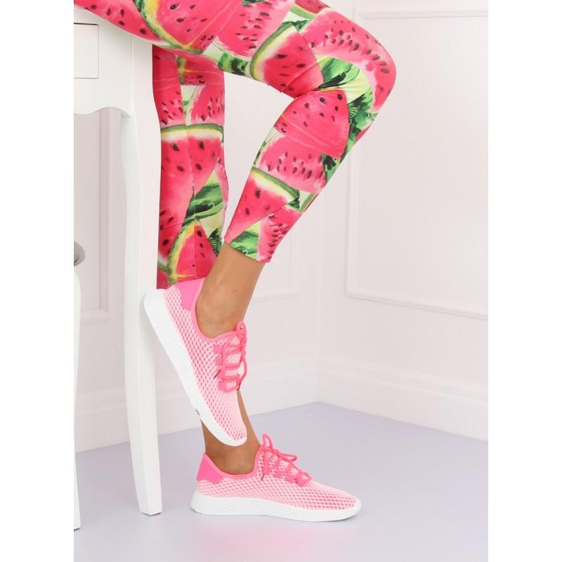 a6878880b1da3 Štýlová dámska športová obuv ružovej farby
