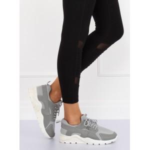 Dámska športová obuv sivej farby na každý deň
