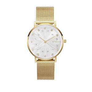 Luxusné strieborné dámske hodinky s ciferníkom rímskych číslic