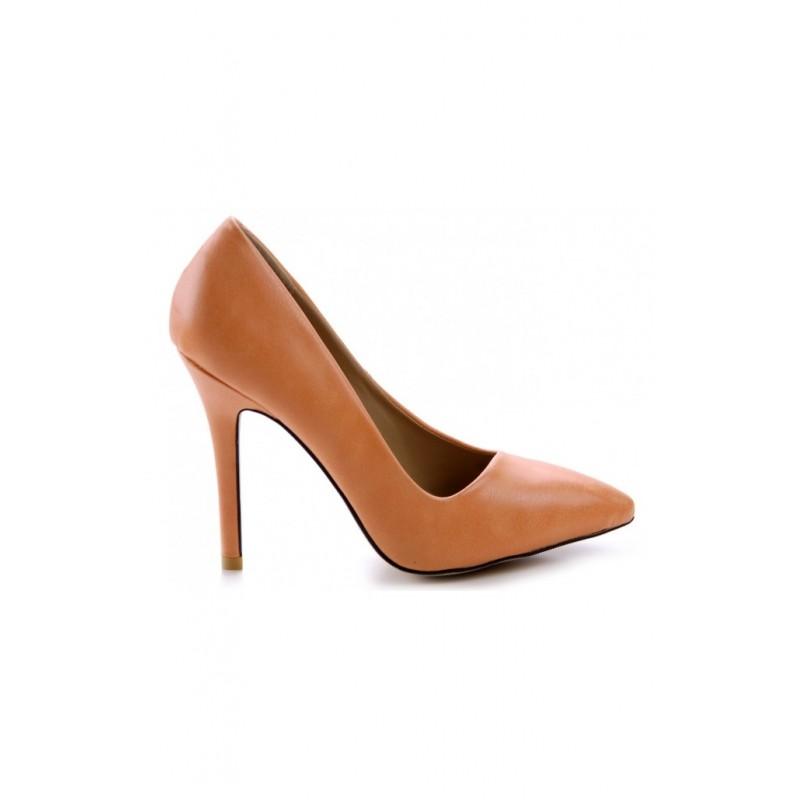 087123fc99 Luxusné dámske lodičky hnedej farby s podpätkom - fashionday.eu
