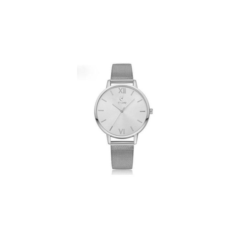 Dámske náramkové hodinky s bielym ciferníkom a kovovým remienkom a07a86bbfcd