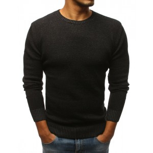 Pánsky spoločenský sveter čiernej farby