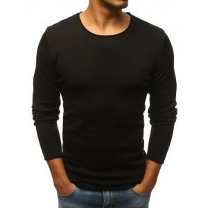 Spoločenský pánsky pulóver čiernej farby