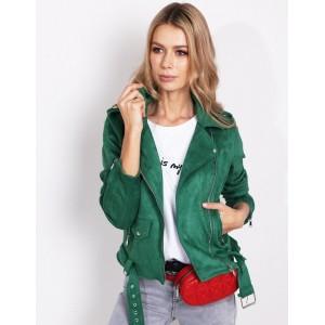 Zelená dámska bunda na jar