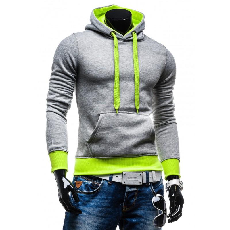 Moderné pánske mikiny pre chlapov s kapucňou - fashionday.eu ead8ca31613