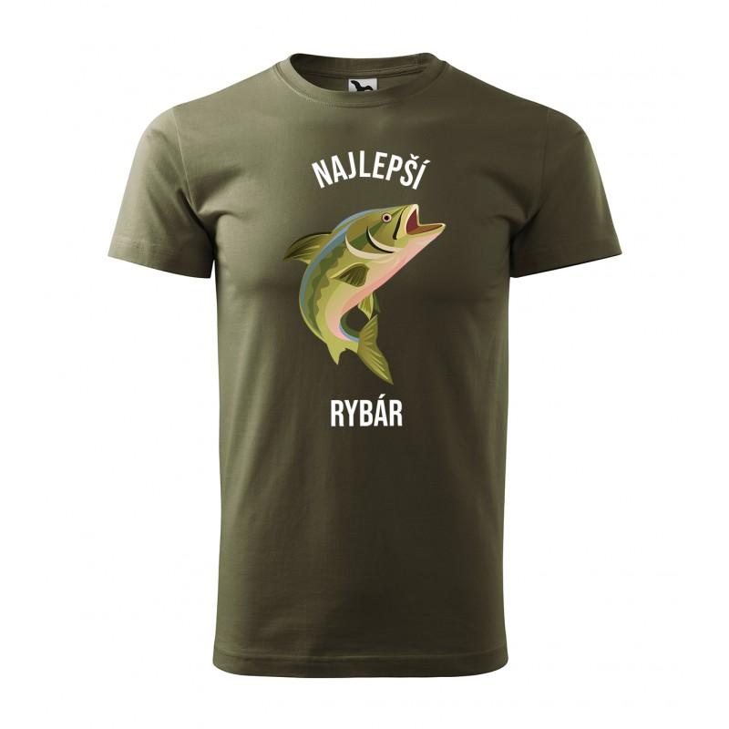 f5ea1fec7ff1 Pánske tričko pre najlepšieho rybára