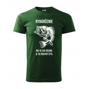 Originálne pánske rybárske tričko s potlačou