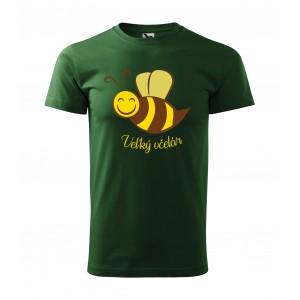 Včelárske tričko s krátkym rukávom s motívom včely