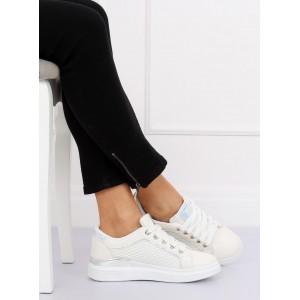 Dámske biele topánky