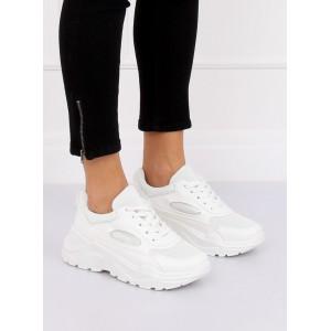 Biele dámske botaski