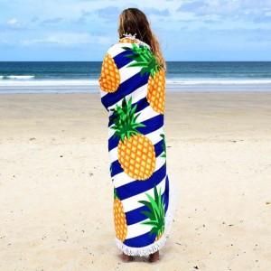 Kvalitná osuška na pláž v motíve ananásov