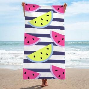 Kvalitný uterák s potlačou melónov