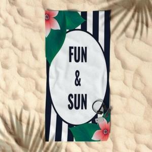 Uterák slnko a zábava na pláž