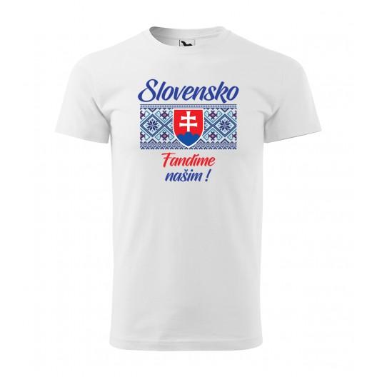 Slovenské hokejové tričká s ľudovým motívom