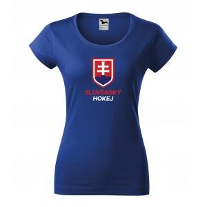 Dámske tričko na MS 2019 s nápisom Slovenský hokej