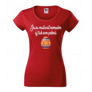 Dámske tričko na veľkú noc s krátkym rukávom