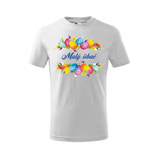 Detské tričko na veľkú noc Malý šibač