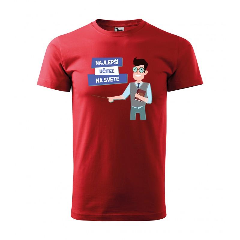 341c9145a2 Pánske tričko s krátkym rukávom pre najlepšieho učiteľa