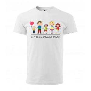 Originálne pánske tričko s rodinným motívom