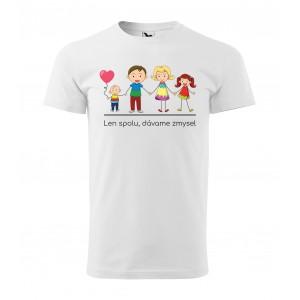Pánske rodinné tričko s krátkym rukávom