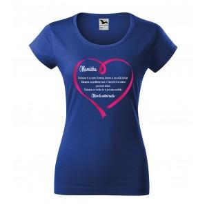 Originálne dámske tričko pre mamičku
