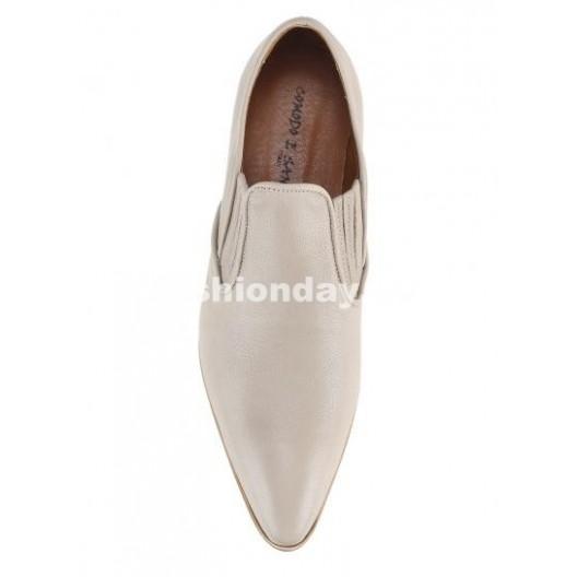 Pánske topánky - biele matné