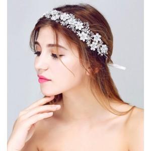 Ozdoba do vlasov pre nevesty s kvetmi