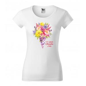 Originálne tričko pre najlepšiu mamičku