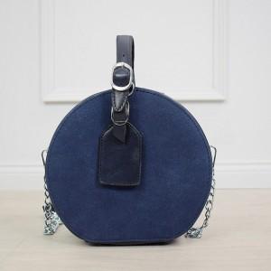 Štýlová dámska tmavo modrá crossbody kabelka v módnom dizajne