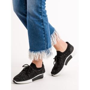 Čierné dámske topánky