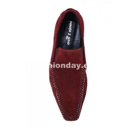 Pánske topánky - bordové