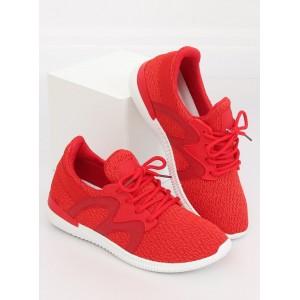 Červené dámske tenisky na leto