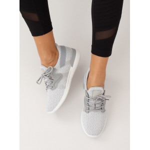 Štýlová dámska športová obuv sivej farby