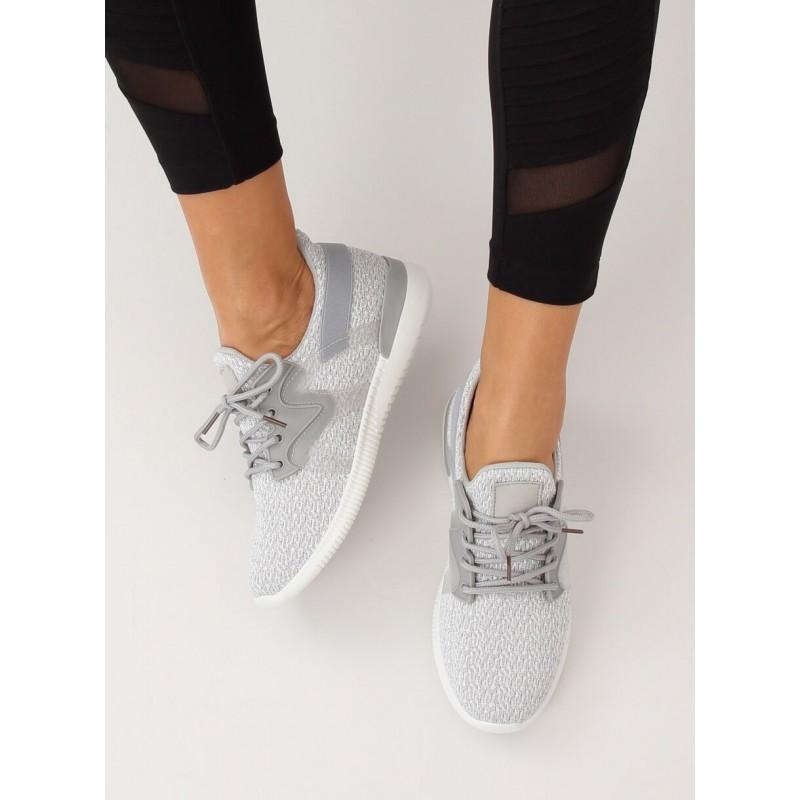 3f7954f04379 Štýlová dámska športová obuv sivej farby