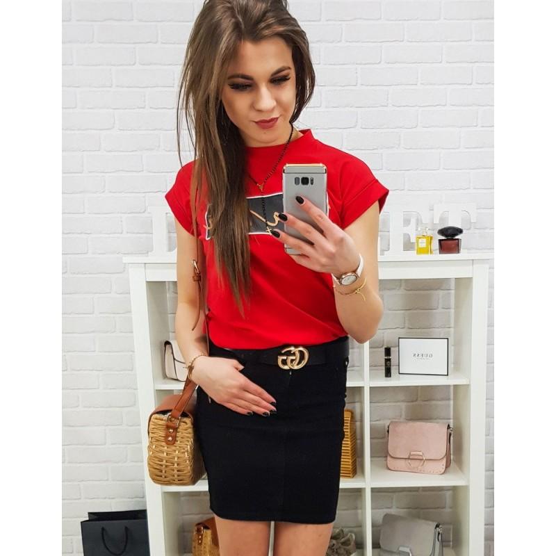 ff88afe48927 Štýlová dámska čierna mini sukňa so zapínaním na gombík a zips