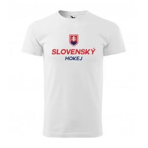 Pánske tričko s logom slovenských hokejistov